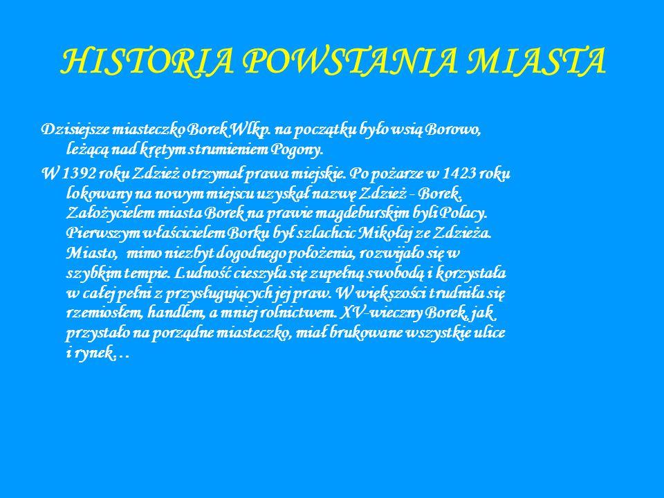HISTORIA POWSTANIA MIASTA