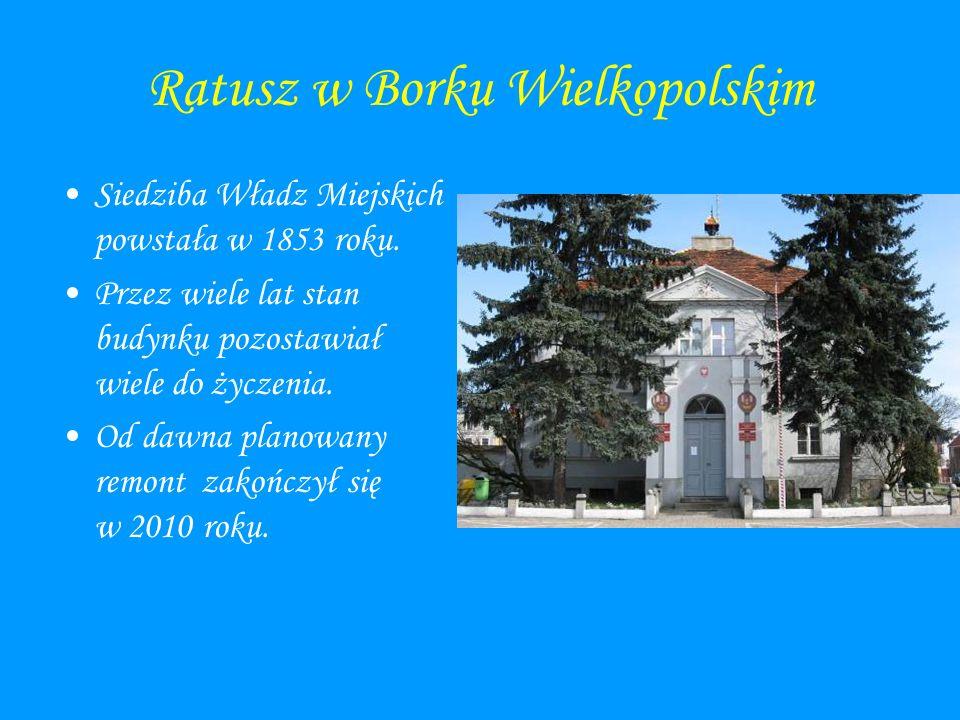 Ratusz w Borku Wielkopolskim