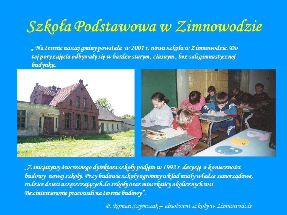 Szkoła Podstawowa w Zimnowodzie
