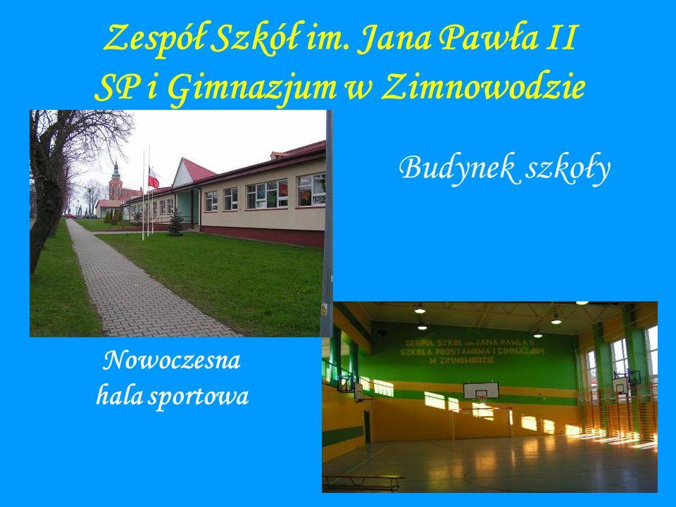Zespół Szkół im. Jana Pawła II SP i Gimnazjum w Zimnowodzie