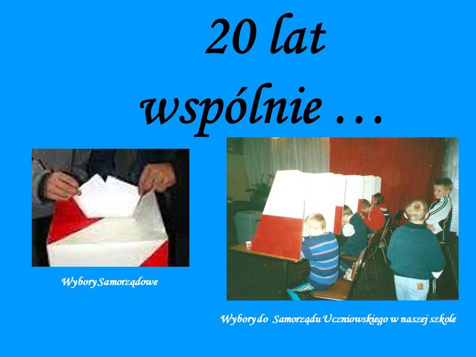 Wybory do Samorządu Uczniowskiego w naszej szkole