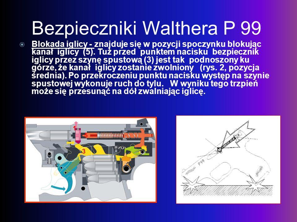 Bezpieczniki Walthera P 99