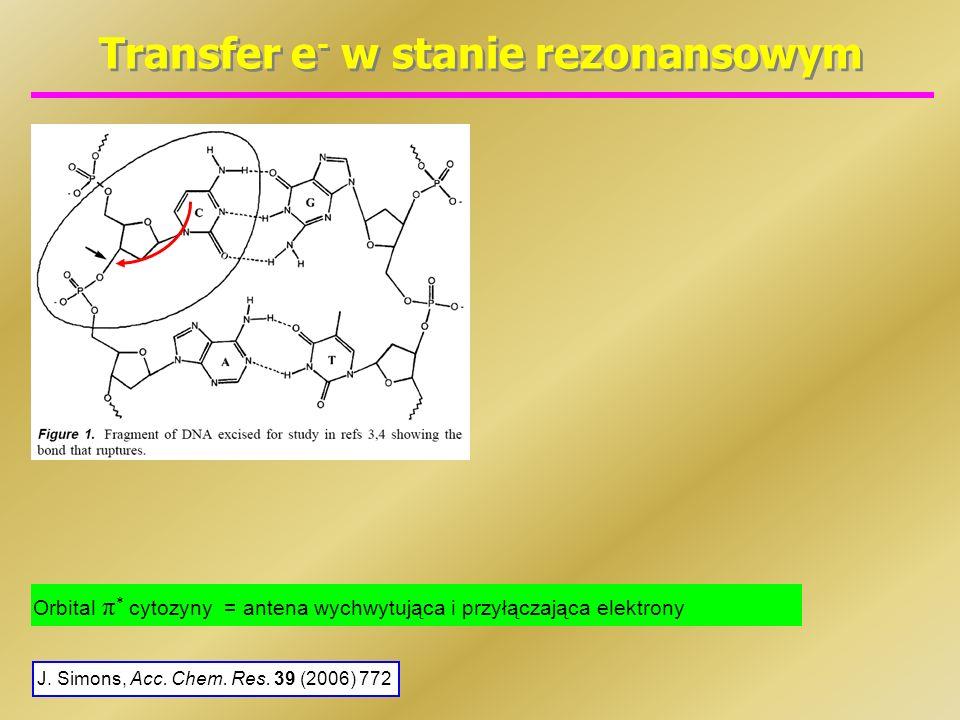 Transfer e- w stanie rezonansowym