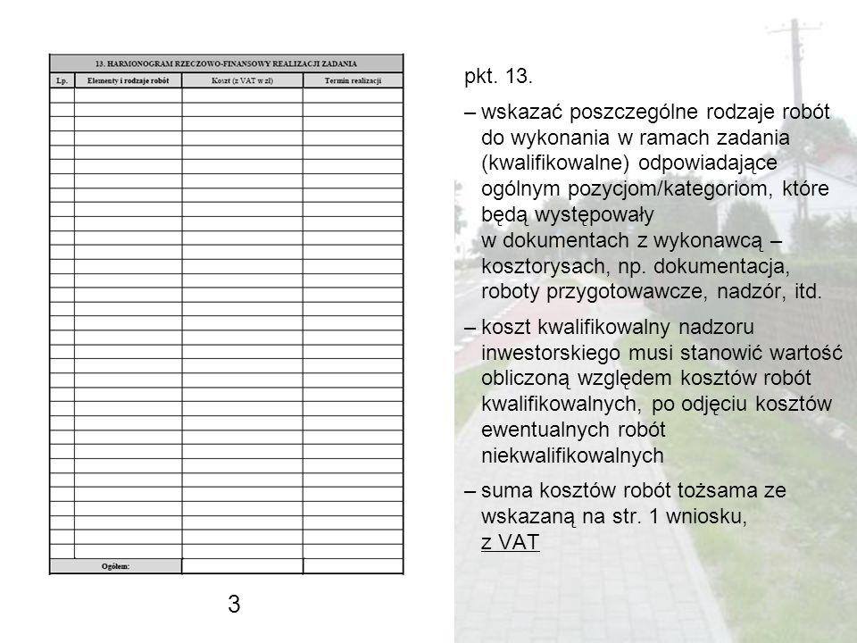 pkt. 13.