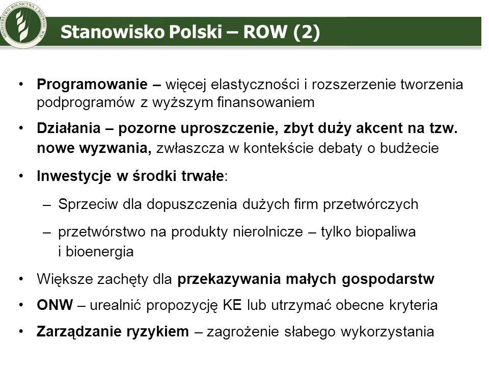Stanowisko Polski – ROW (2)