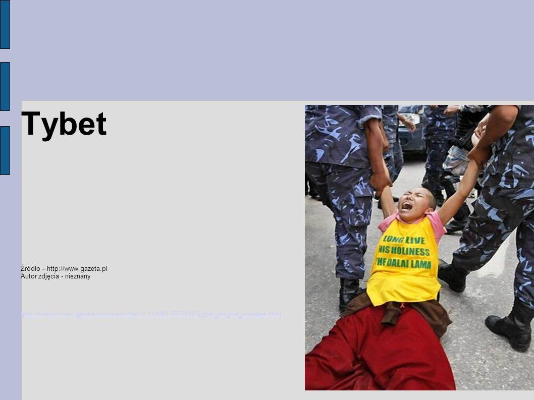 Tybet Źródło – http://www.gazeta.pl Autor zdjęcia - nieznany