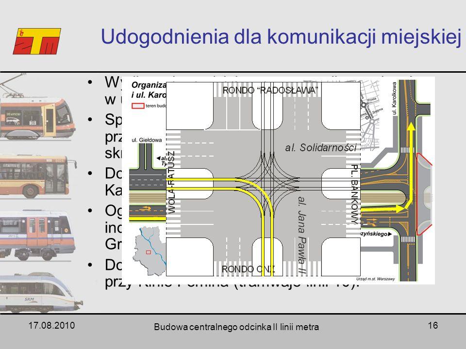 Udogodnienia dla komunikacji miejskiej