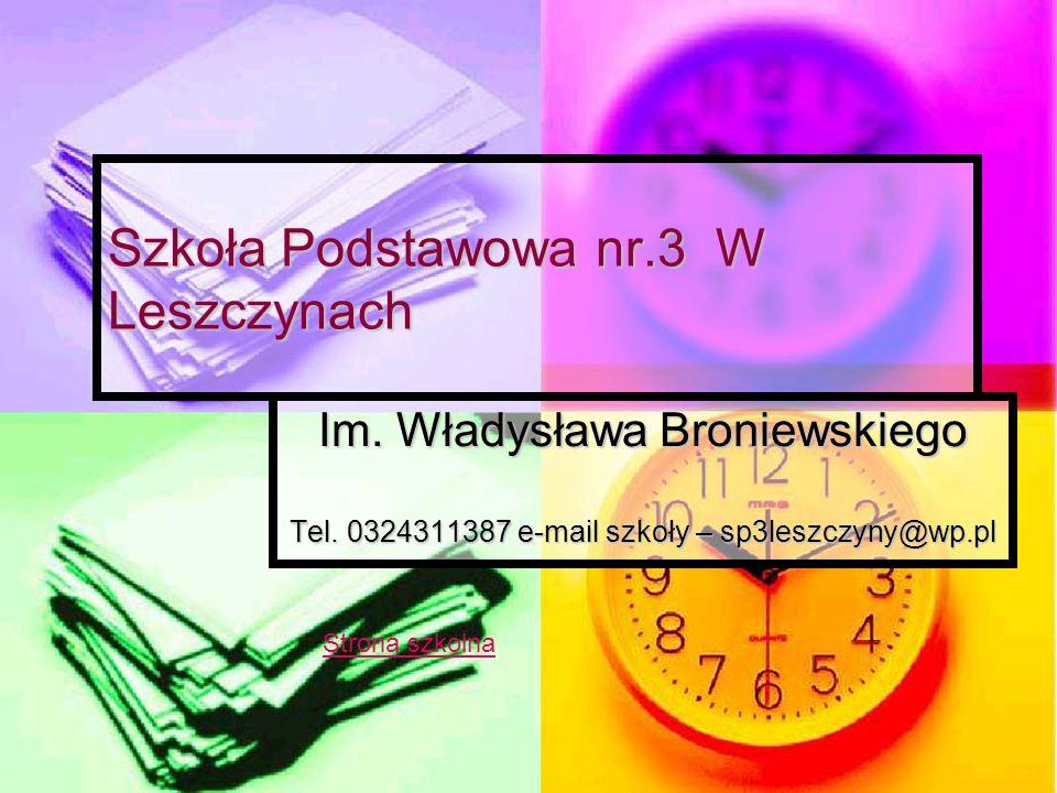 Szkoła Podstawowa nr.3 W Leszczynach