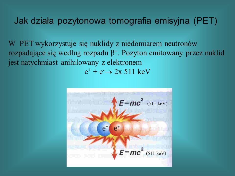 Jak działa pozytonowa tomografia emisyjna (PET)
