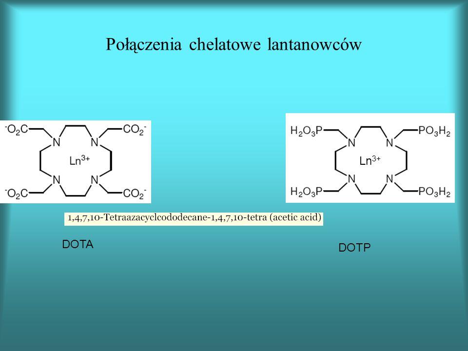 Połączenia chelatowe lantanowców