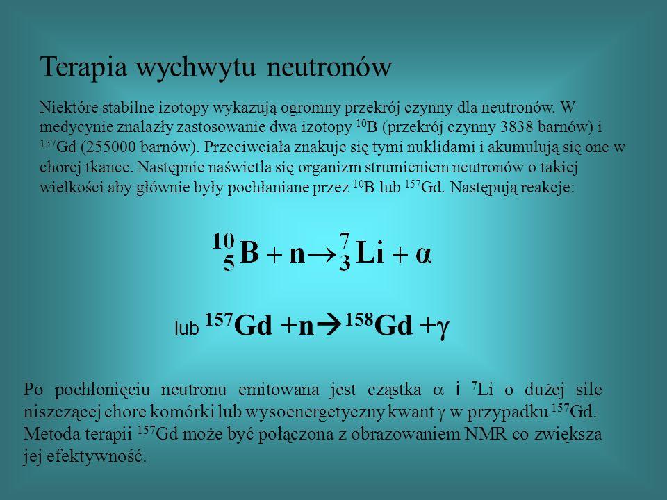 Terapia wychwytu neutronów