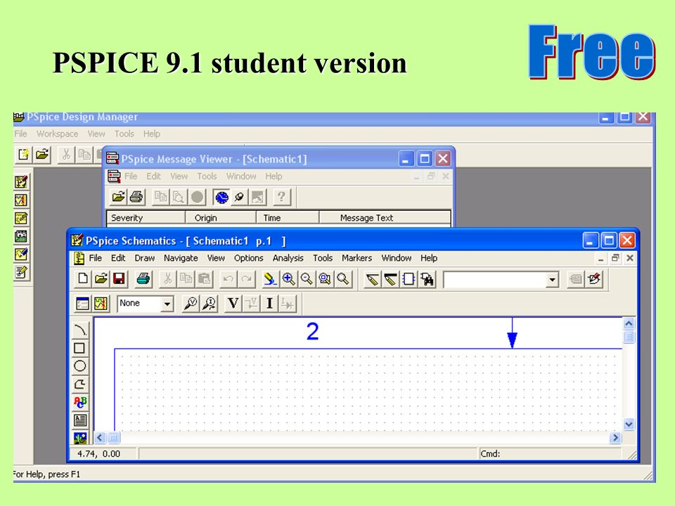 Free PSPICE 9.1 student version