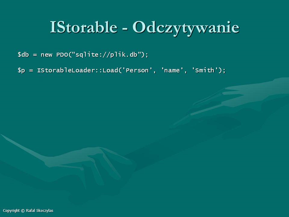 IStorable - Odczytywanie
