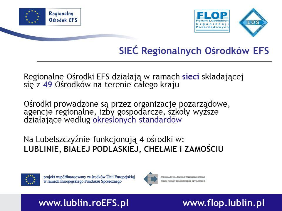 SIEĆ Regionalnych Ośrodków EFS