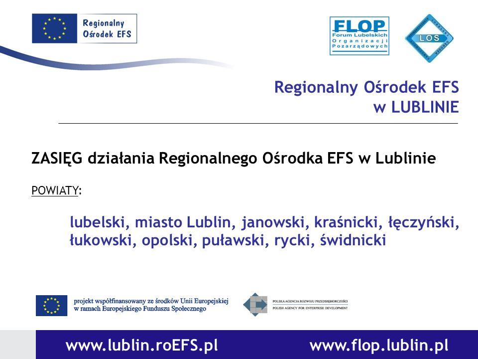 www.lublin.roEFS.pl www.flop.lublin.pl
