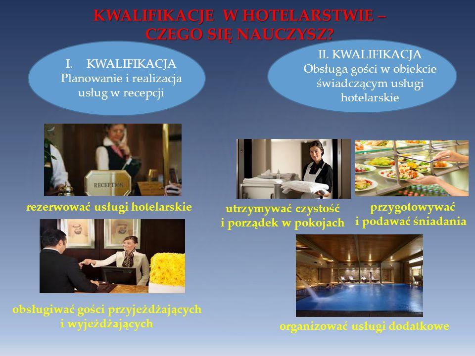 KWALIFIKACJE W HOTELARSTWIE – CZEGO SIĘ NAUCZYSZ