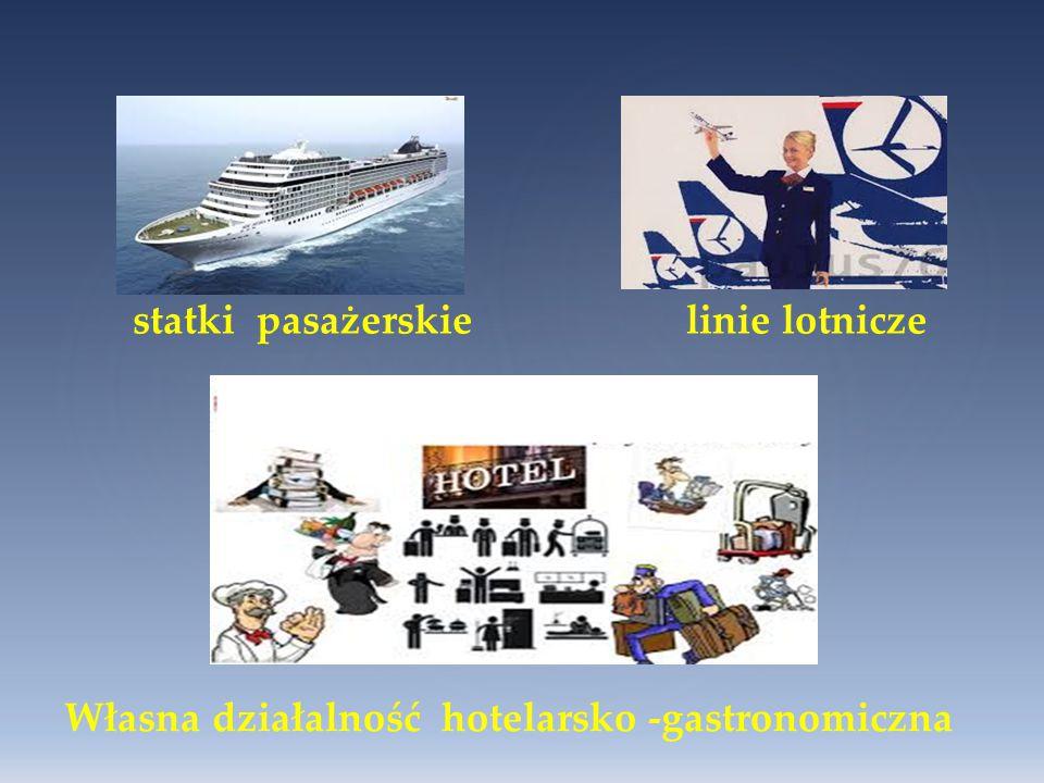 statki pasażerskie linie lotnicze