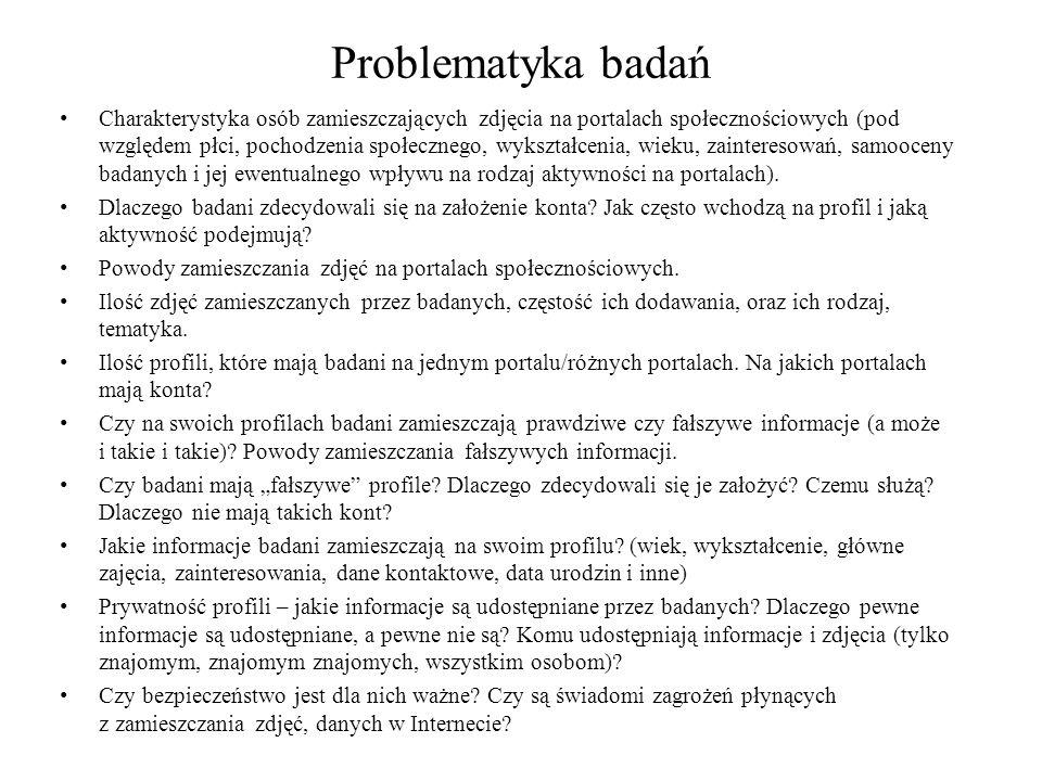 Problematyka badań