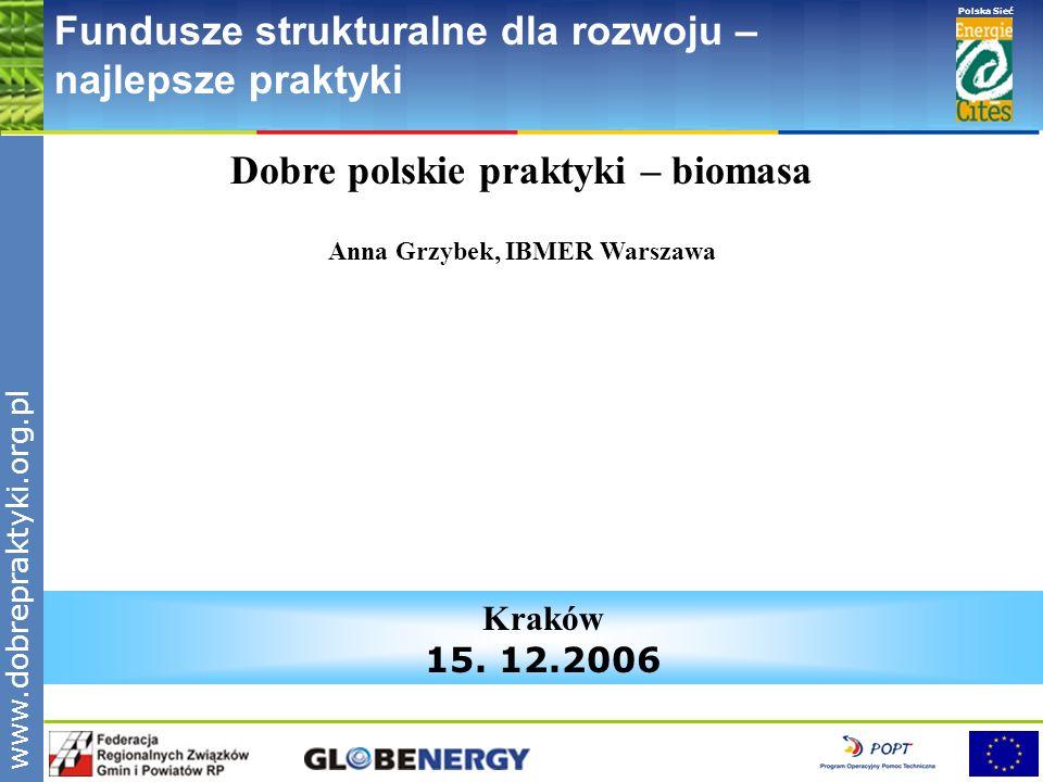 Dobre polskie praktyki – biomasa