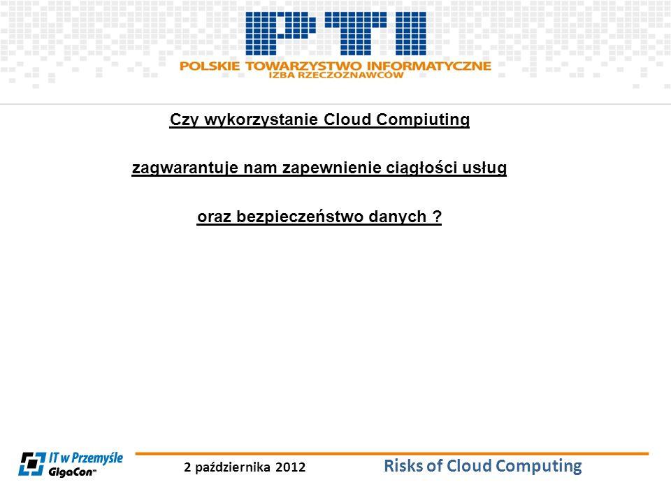 Czy wykorzystanie Cloud Compiuting