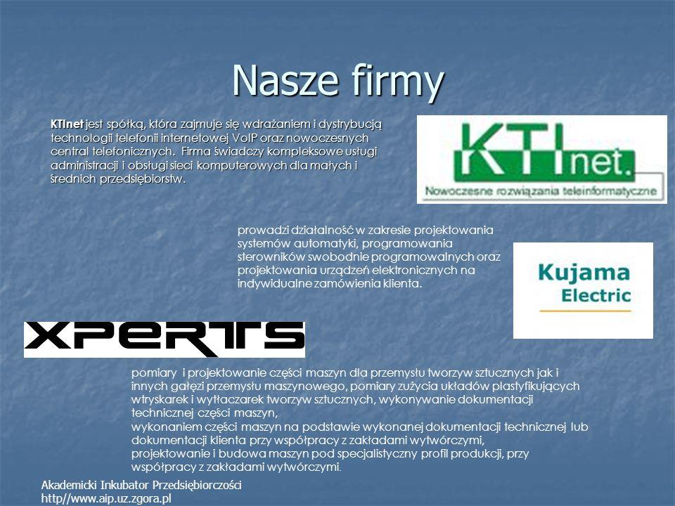 Nasze firmy