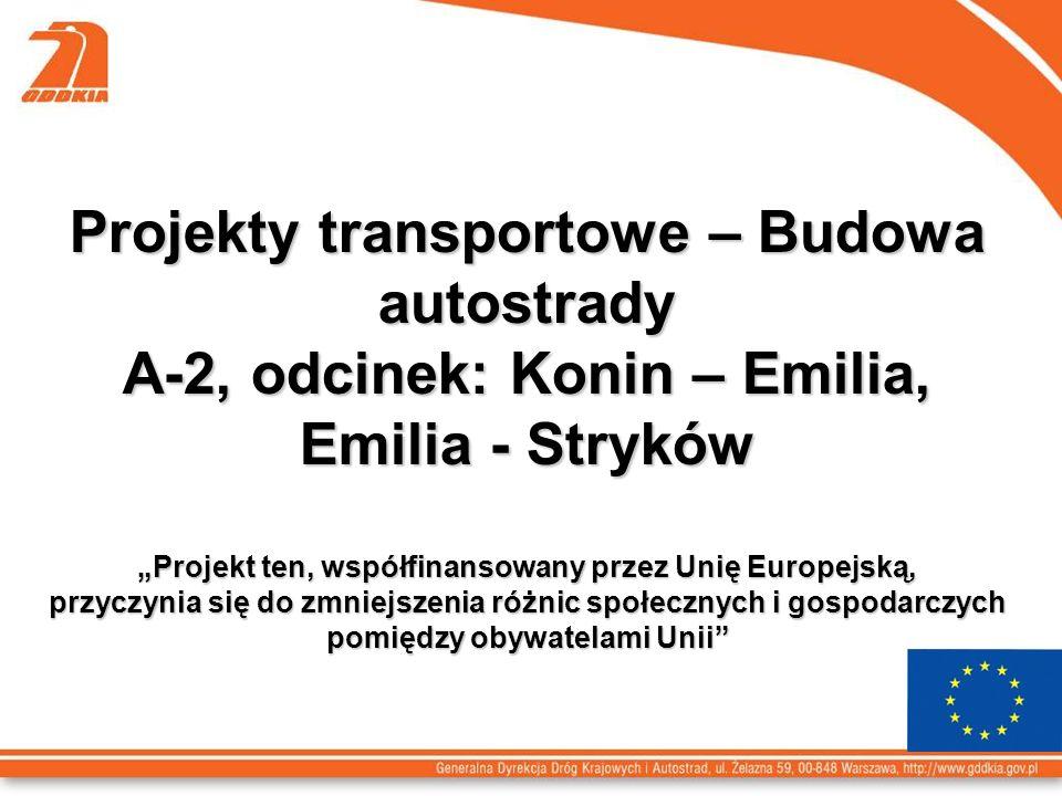 Projekty transportowe – Budowa autostrady