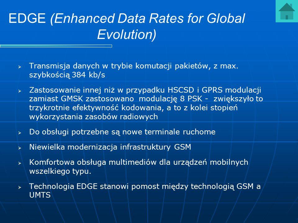 EDGE (Enhanced Data Rates for Global Evolution)