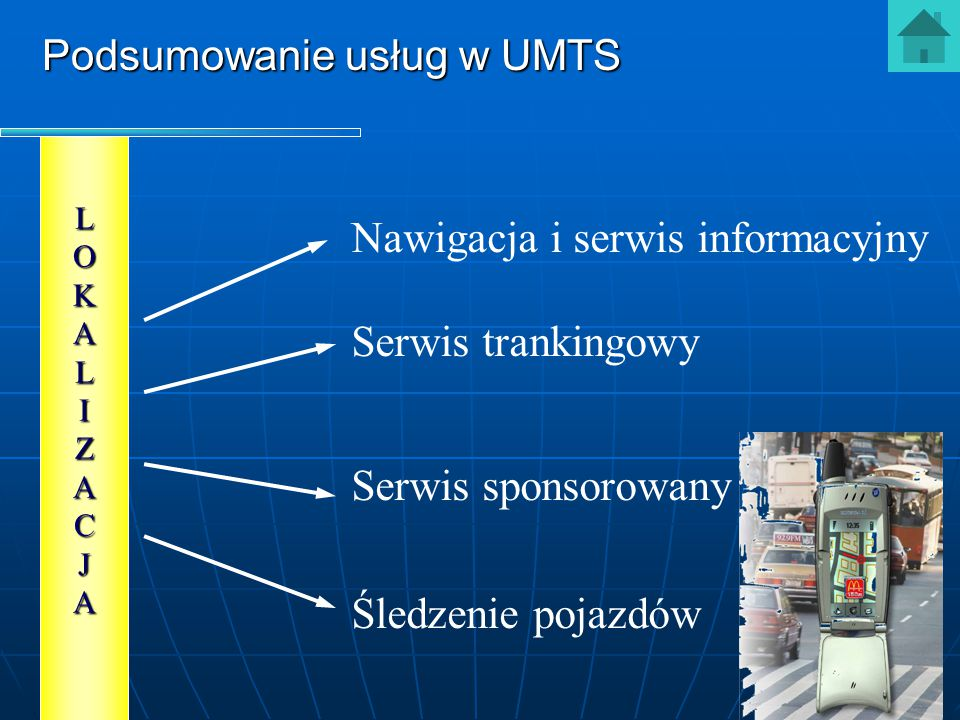 Nawigacja i serwis informacyjny
