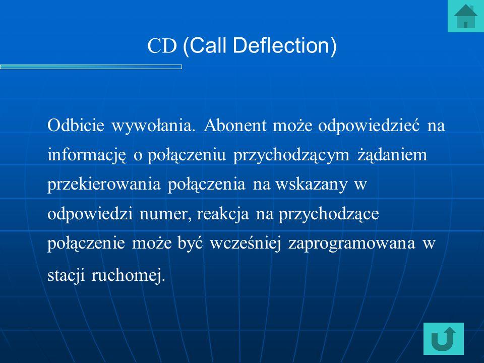 CD (Call Deflection)