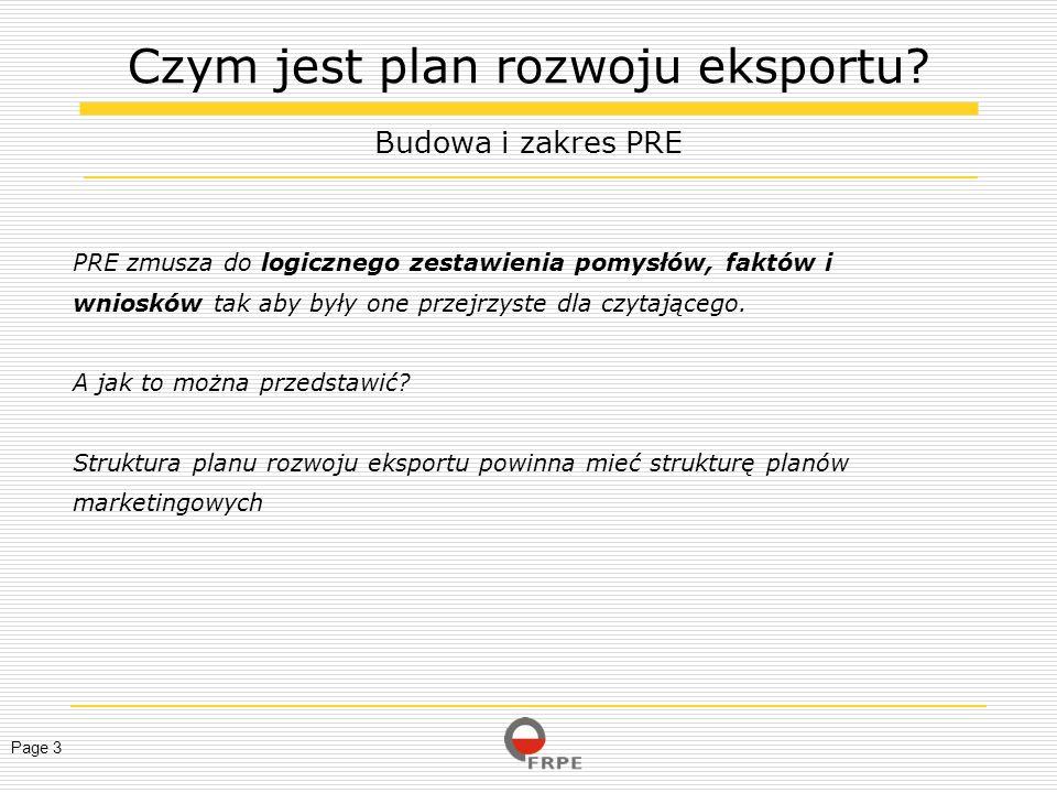 Czym jest plan rozwoju eksportu