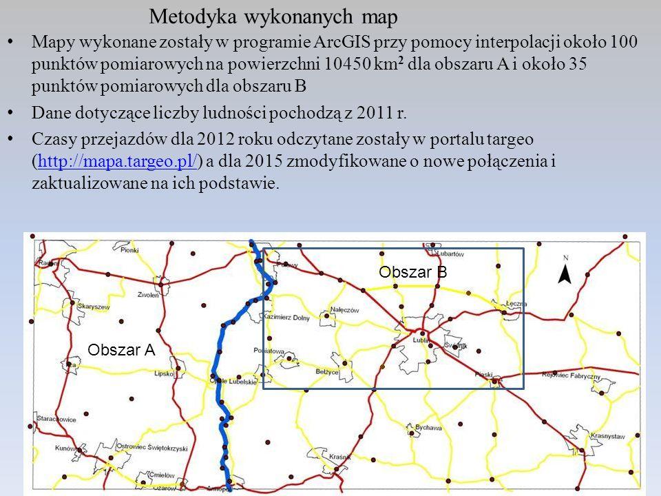 Metodyka wykonanych map