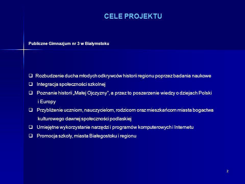 Publiczne Gimnazjum nr 3 w Białymstoku