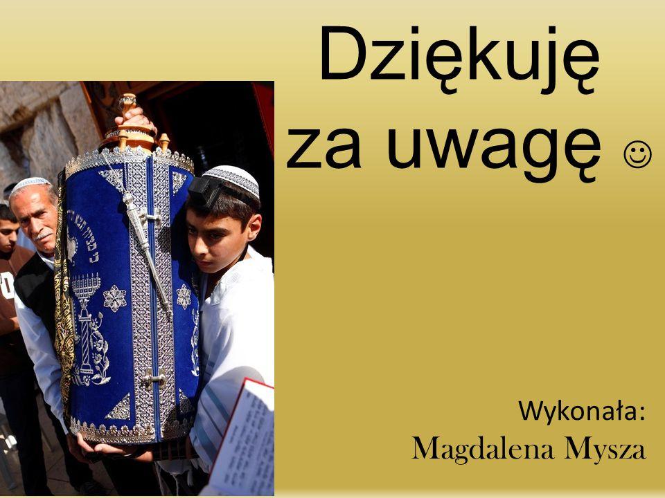 Dziękuję za uwagę  Wykonała: Magdalena Mysza