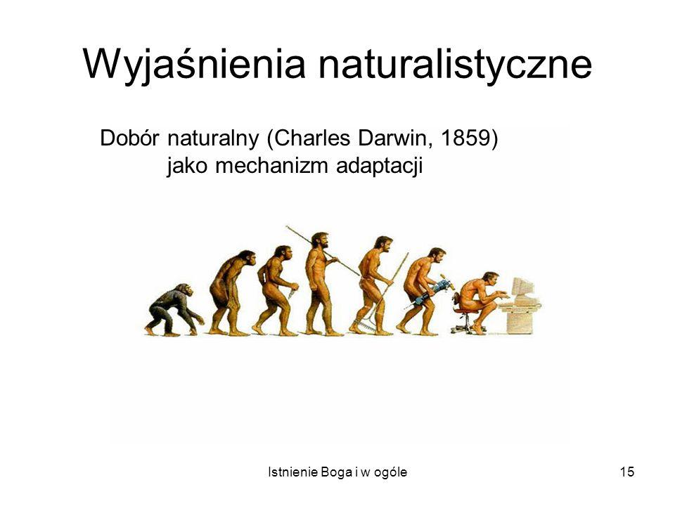 Wyjaśnienia naturalistyczne