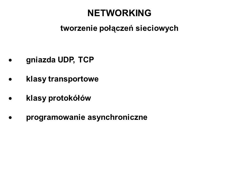 tworzenie połączeń sieciowych