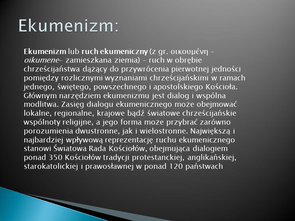 Ekumenizm: