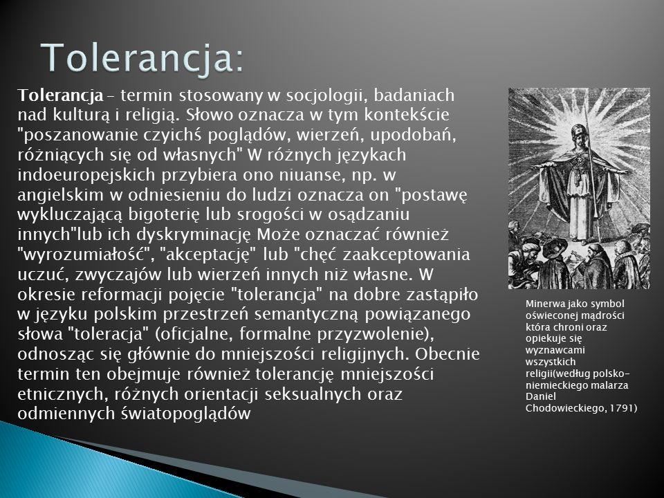 Tolerancja: