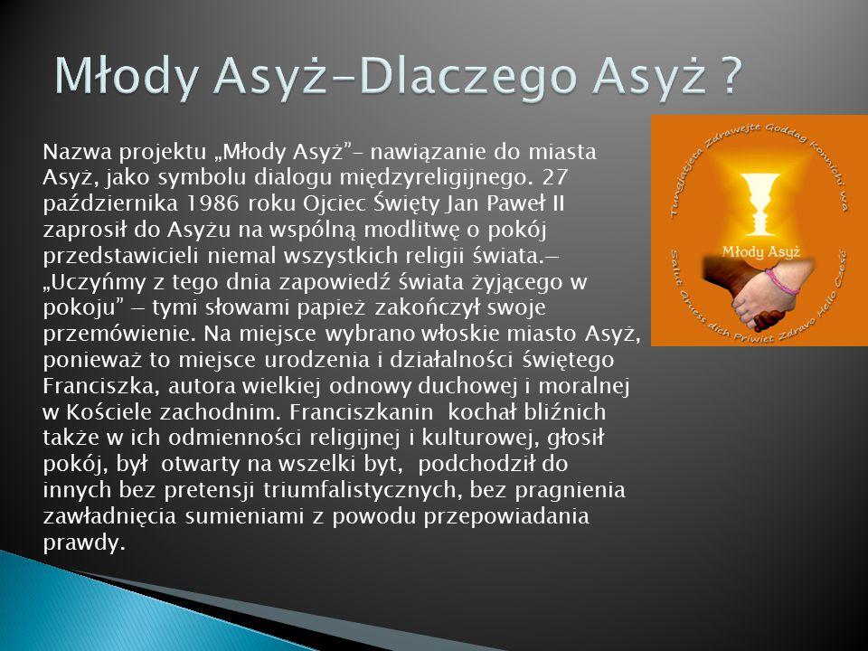 Młody Asyż-Dlaczego Asyż
