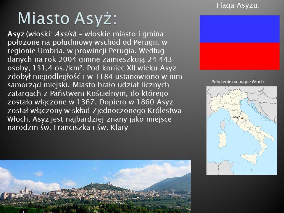 Miasto Asyż: Flaga Asyżu: