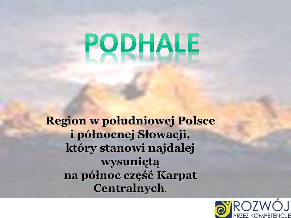 Region w południowej Polsce który stanowi najdalej wysuniętą