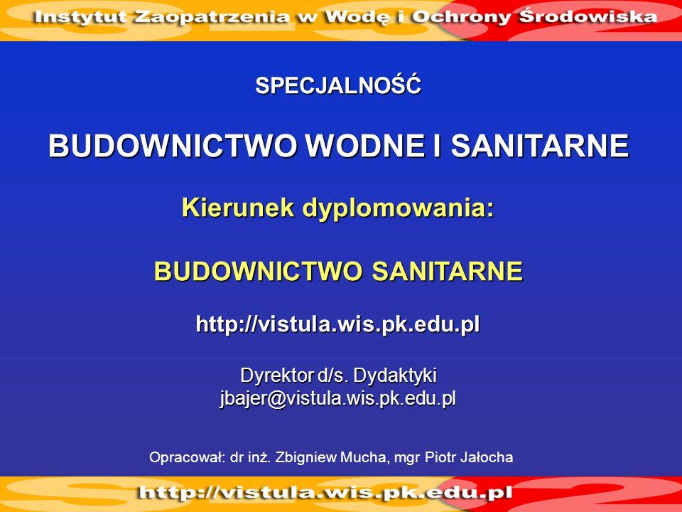 BUDOWNICTWO WODNE I SANITARNE