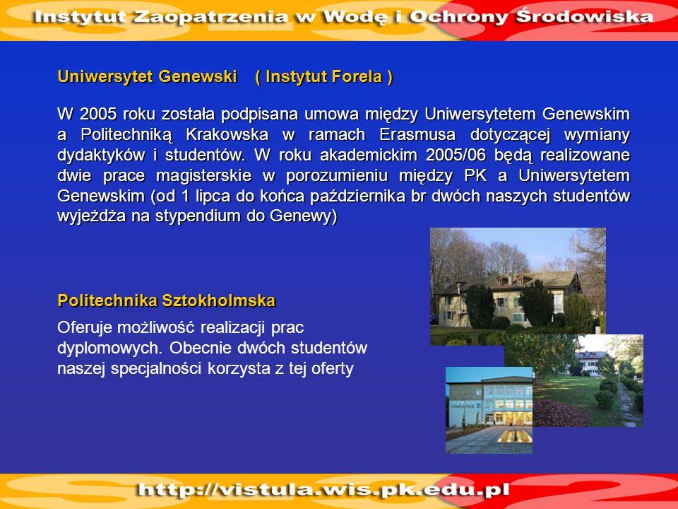 Uniwersytet Genewski ( Instytut Forela )