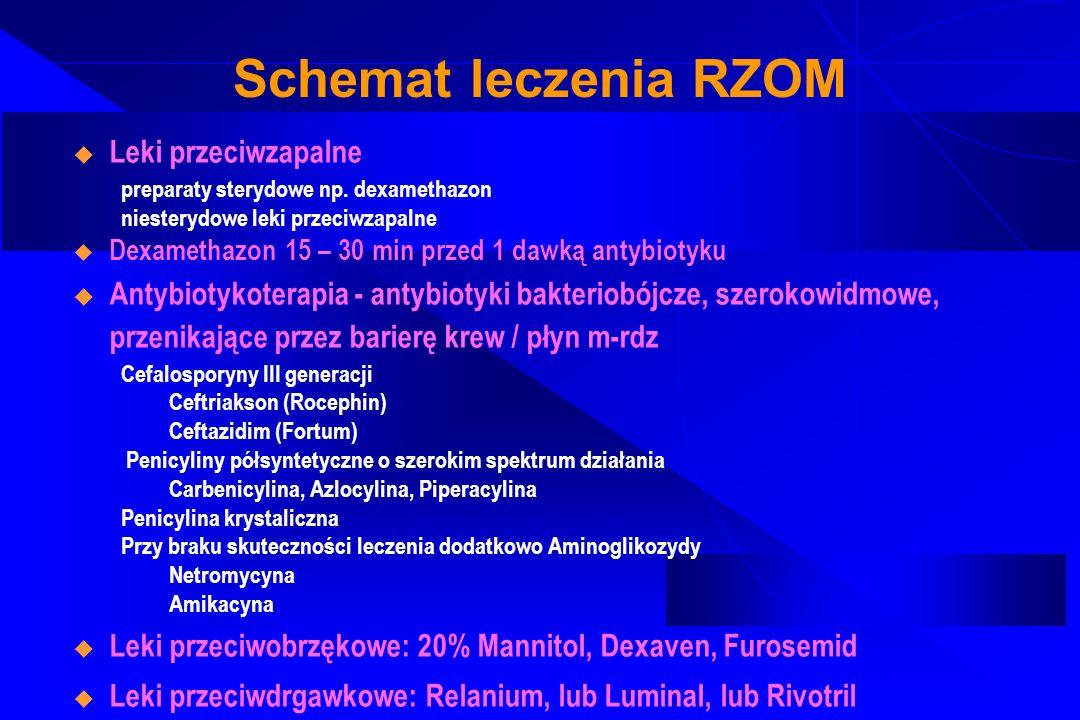 Schemat leczenia RZOM Leki przeciwzapalne