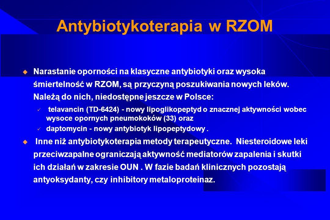 Antybiotykoterapia w RZOM