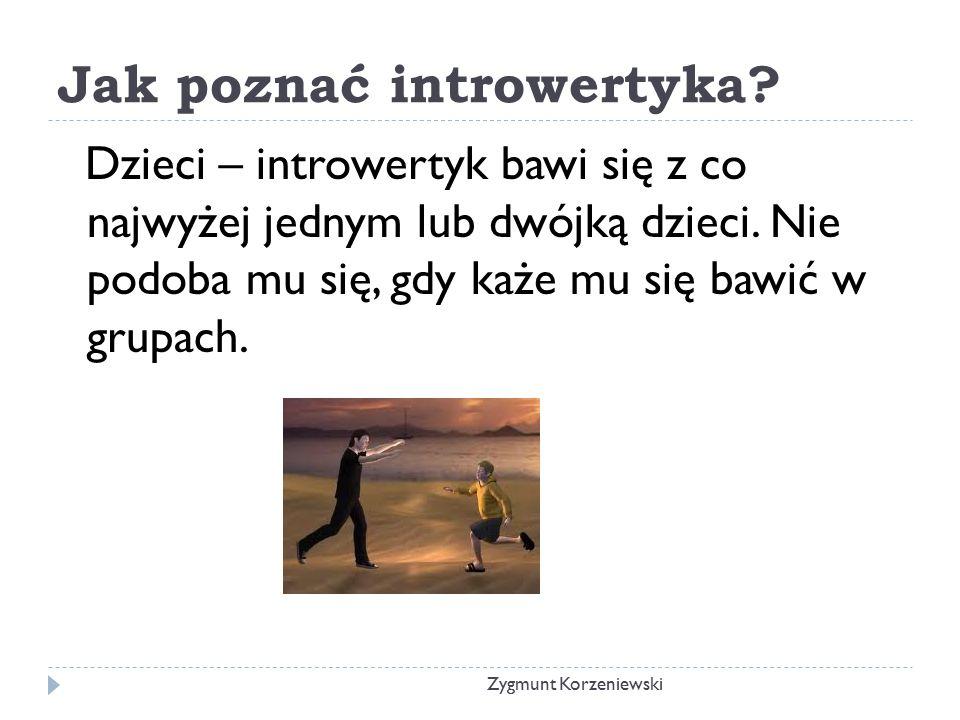Jak poznać introwertyka