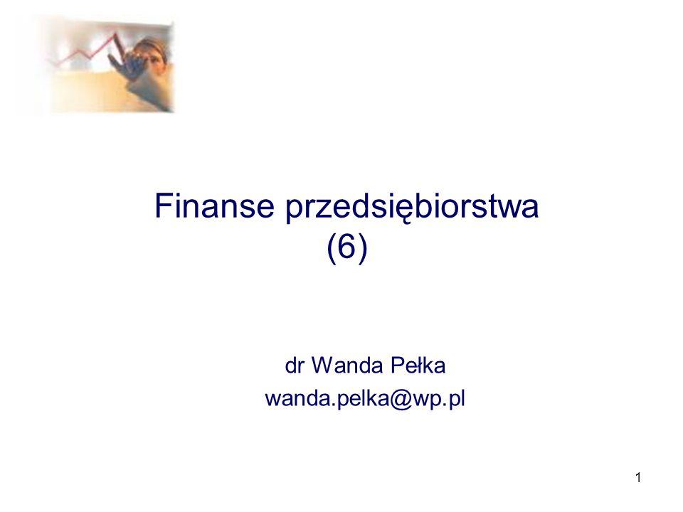 Finanse przedsiębiorstwa (6)