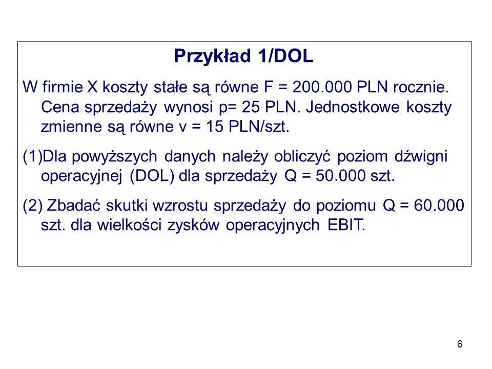 Przykład 1/DOL