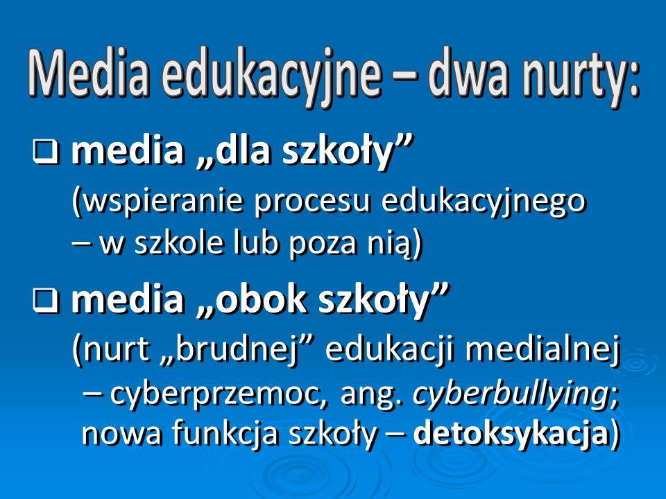 Media edukacyjne – dwa nurty: