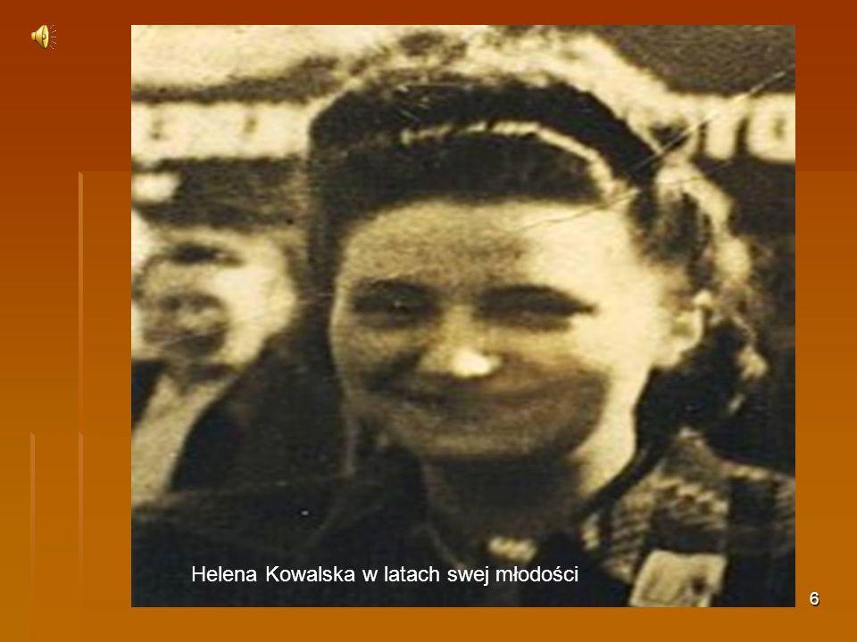 Helena Kowalska w latach swej młodości