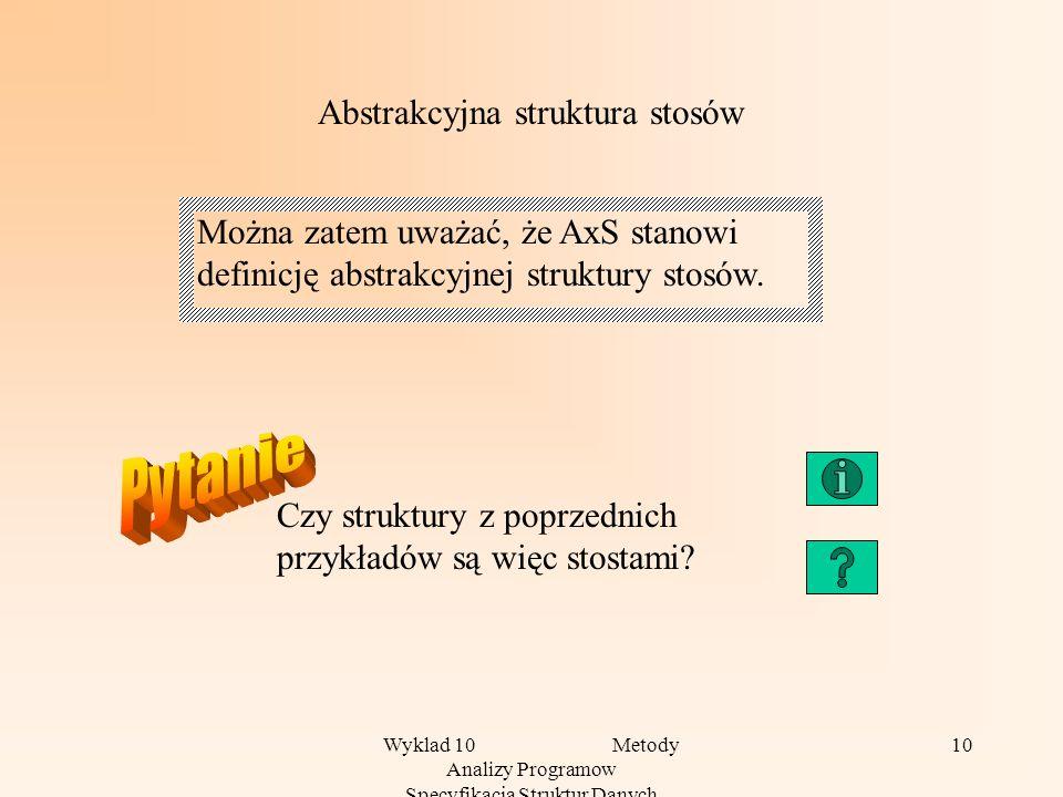 Abstrakcyjna struktura stosów